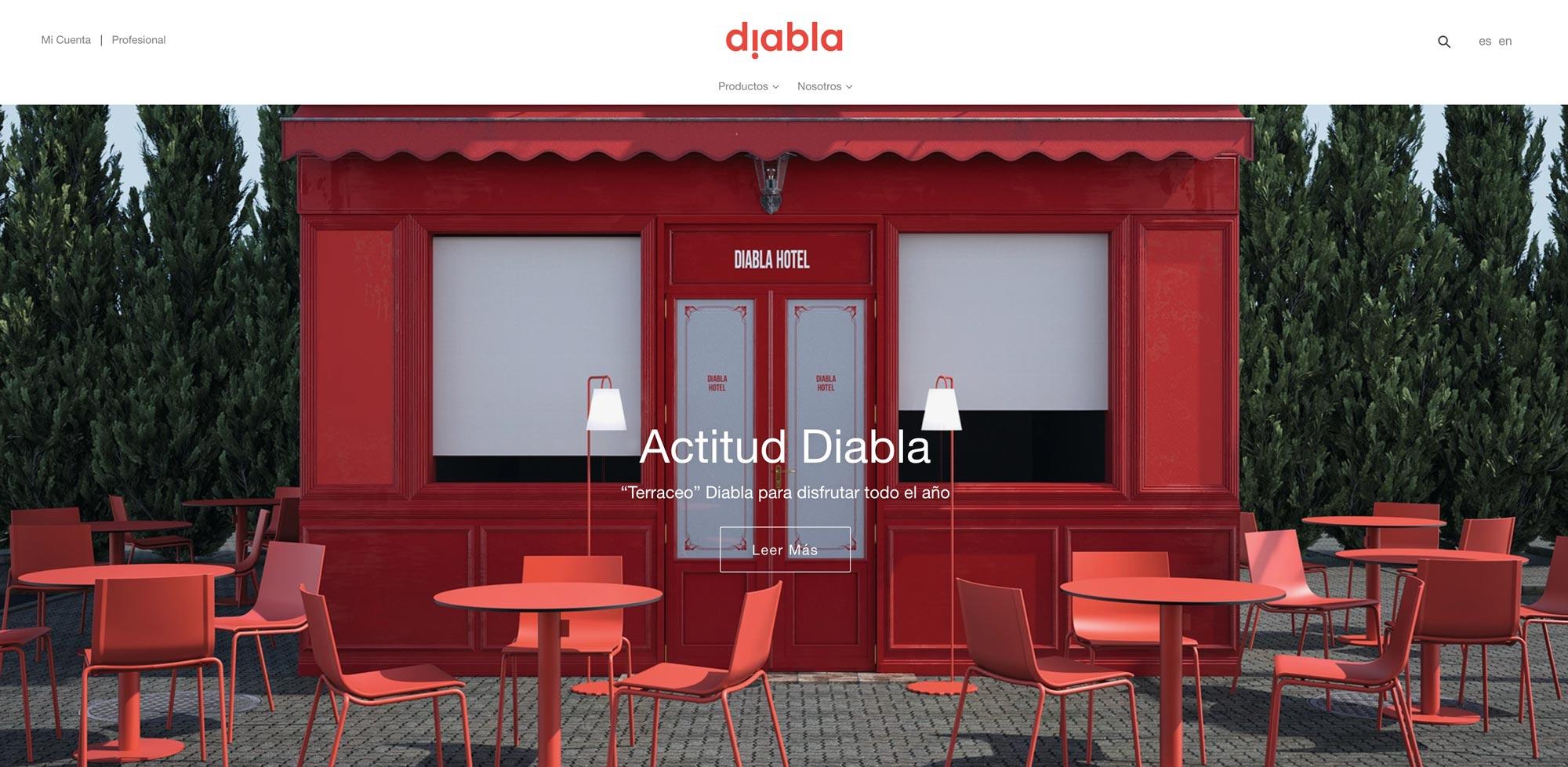 Diabla Shopify
